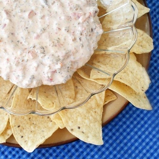 Sausage Cream Cheese Dip  •  Free tutorial with pictures on how to make a cheese dip in under 15 minutes