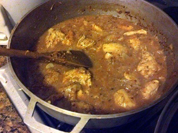 El Pollo Vindaloo es quizá la menos india de las recetas indias, ya que es una variación inglesa de una variación india de una receta de Portugal. No importa, es excelente. … Sigue leyendo →
