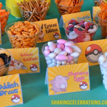 Pokemon Snack Bar – Sharing Party Ideas