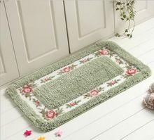 60*100 cm duszpasterska carpet dzienny jadalnia sypialnia dywaniki antypoślizgowe dywaniki zmywalny łazienka carpet multicolor miękkie mat(China (Mainland))
