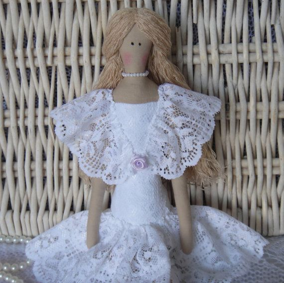 Tilda doll handmade Leticia by Charmerhandshouse on Etsy