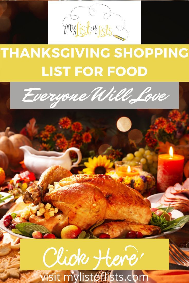 Food Coma Shopping List For Thanksgiving My List Of Lists In 2020 Thanksgiving Shopping Food Thanksgiving Dinner