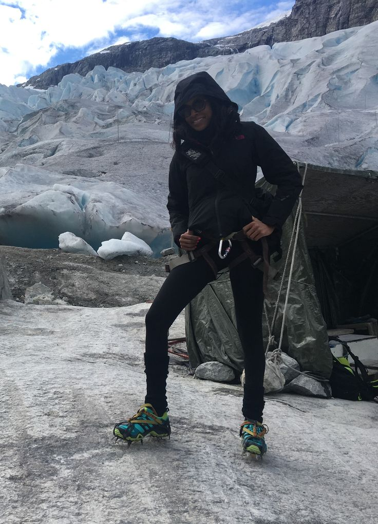 Exploring new ways to get activity. Glacier hiking in Norway. #Fitnessismypassion #tryingnewthings  #greatadventure