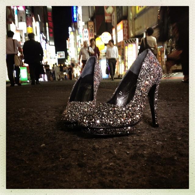 Ingunn Birkeland shoes. In Tokyo. Photo Trude Mokkelbost