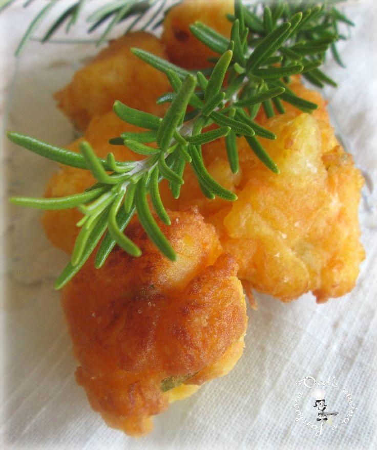 Frittelle di zucca e patate