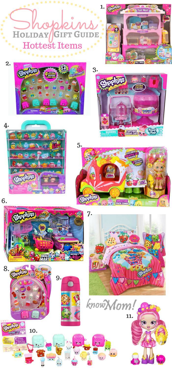Ultimate Holiday Gift Guide For Kids Who Love Shopkins!