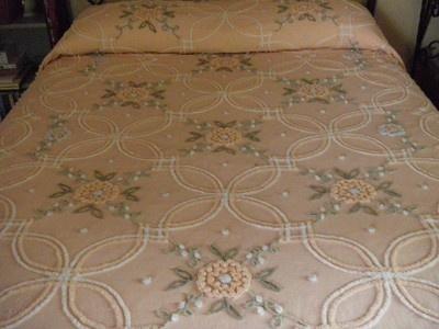 vintage chenille bedspread - Chenille Bedspreads