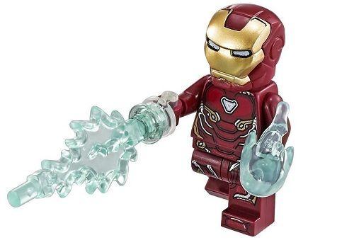 Iron Man LEGO Avengers Infinity War Minifigures | Tony Stark/Iron ...