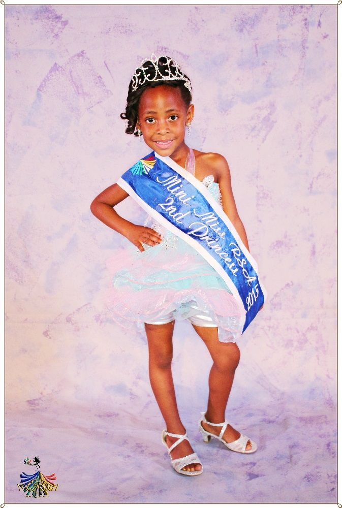 Mini Miss RSA 2015 - 2nd Princess Orabile Rathebe