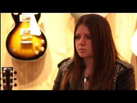 Interview at Guitar Center- Arielle - YouTube