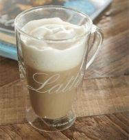 Kubek szklany CAFFE LATTE  RIVIERA MAISON