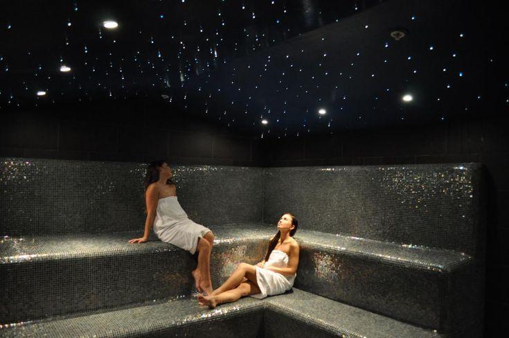Image of a steam room at Korean Spa at Los Angeles