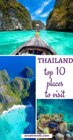 Top 10 things to do and see in Thailand I Must-see places for all visiting Thailand I What not to miss in Thailand I What are the best places in #Thailand