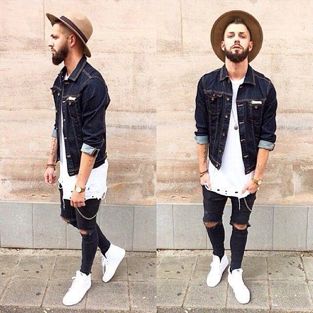 Jaqueta Jeans em alta