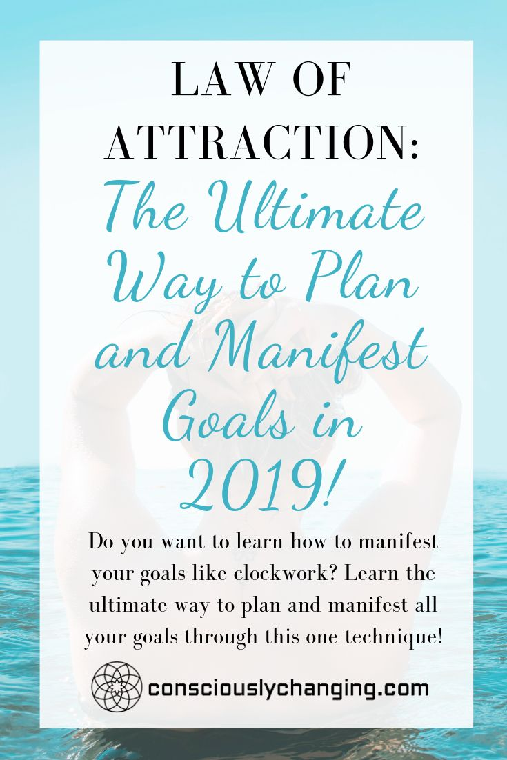 Law Of Attraction The Ultimate Way To Plan And Manifest Goals In 2019 Law Of Attraction Affirmations Law Of Attraction Love Law Of Attraction