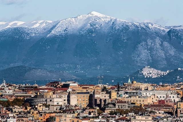 Rome as youd never imagined - Monte Gennaro 1275m and Montecelio in the background