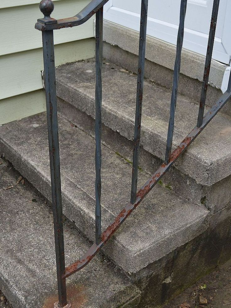How To Update And Refinish Old Iron Rails Irons