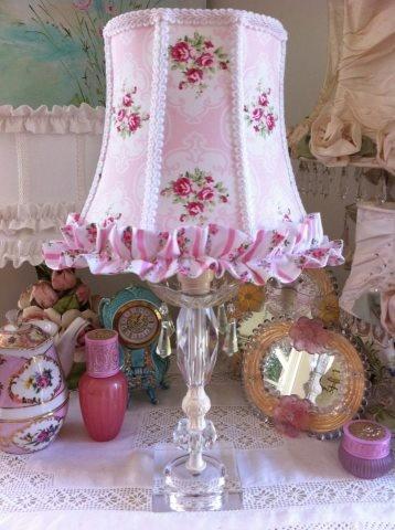 Pink Lamp Shade