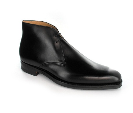 Tetbury     Tetbury, a plain fronted chukka boot made from the finest antique nubuck or suede with Dainite rubber soles. Available from Crockett & Jones, Burlington Arcade.