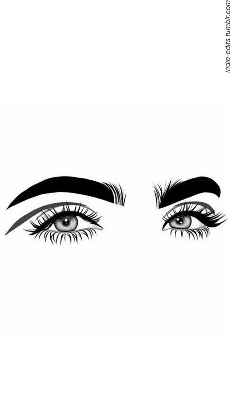 Fondos lockscreens woo tumblr outline outline drawings eye outline - Eye drawing wallpaper ...