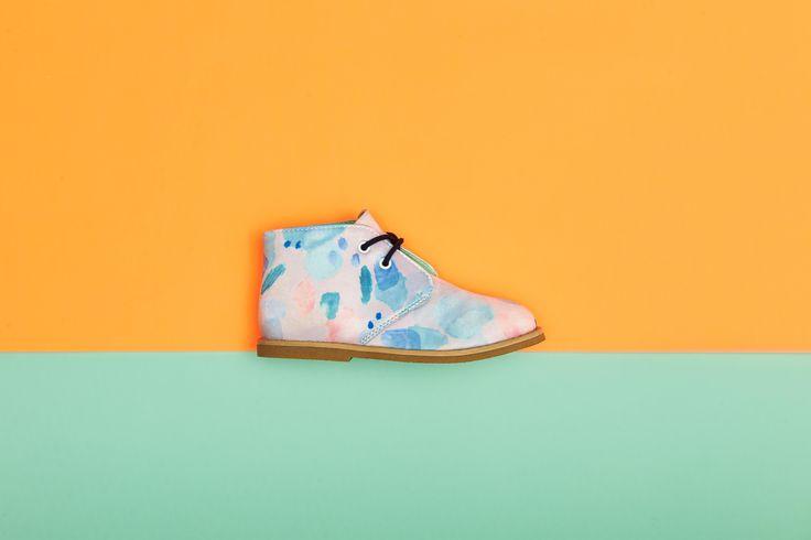 Kids shoes, by Melula
