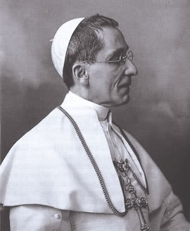Pope Benedict XV, promulgator of the 1917 Code of Canon Law