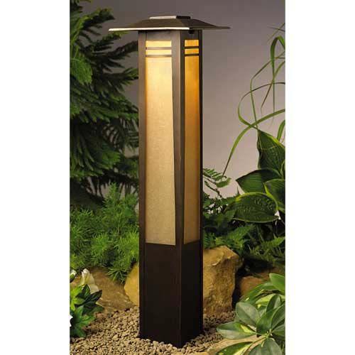 Zen Garden Asian Bollard Path Light- Now this is a Path Light!