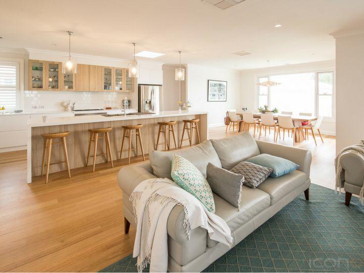 Open space living and kitchen! #Australianhomes #openspace #familyroom #kitchen #dinningroom #iconobuildingdesign