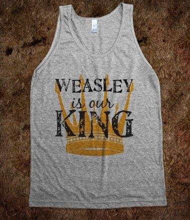 King Weasley - pottermania strikes again