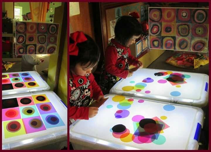Las 25 mejores ideas sobre arte sombra en pinterest for Kandinsky reggio emilia