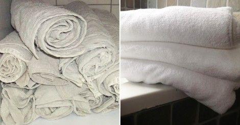 Usa este truco para lograr que tus toallas recuperen su suavidad.