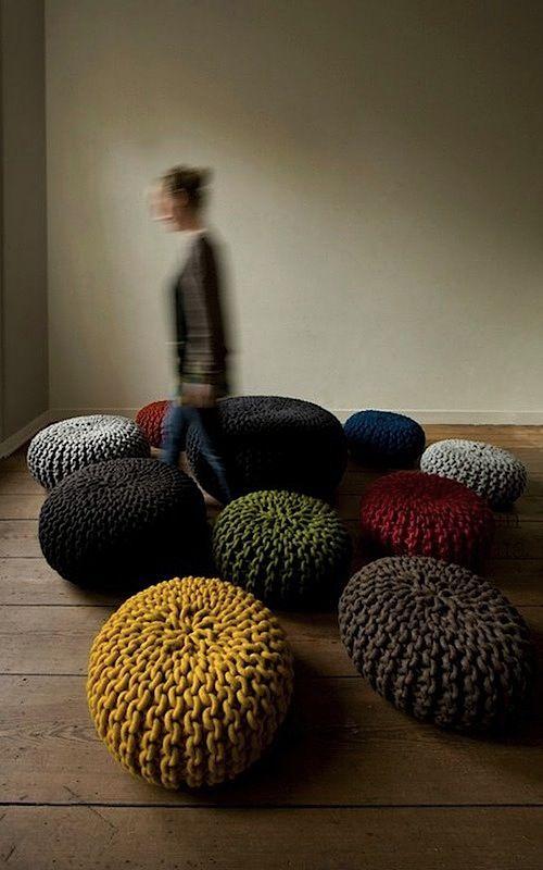 WABI SABI Scandinavia - Design, Art and DIY.: DIY - sticka en matta?