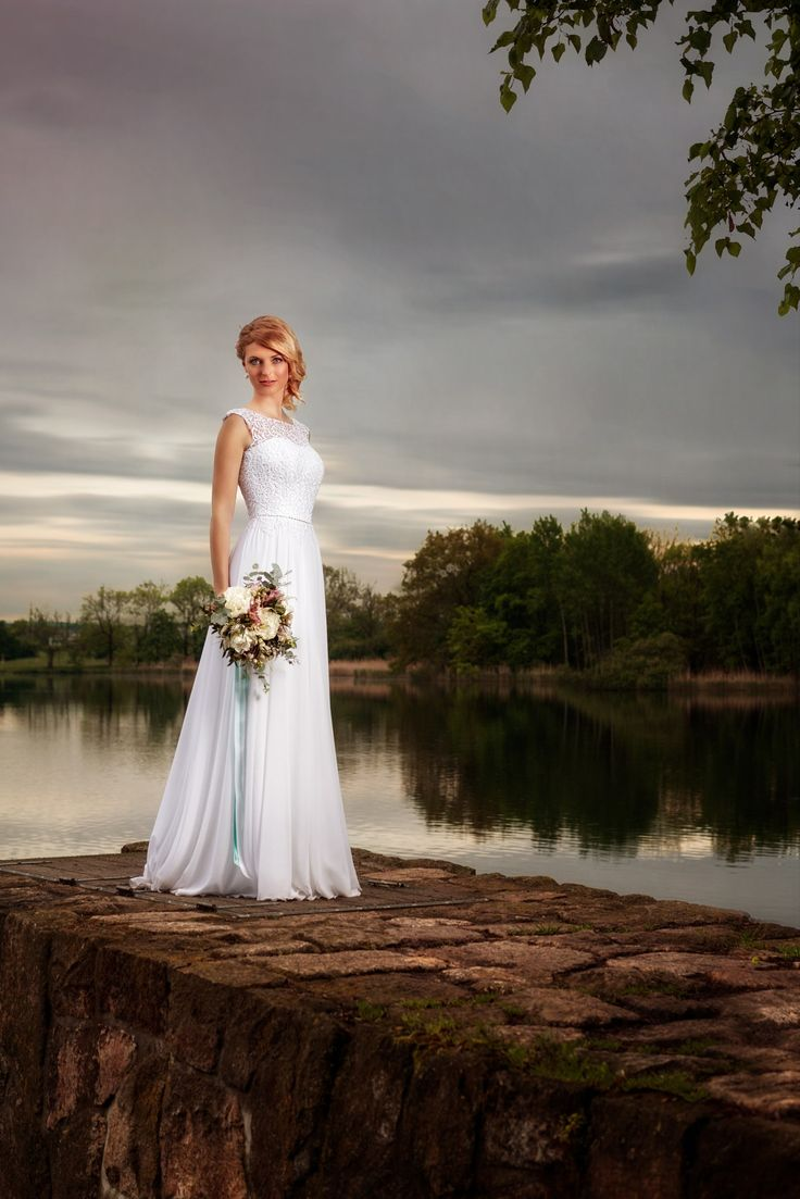"""D&L (2) - Fashion wedding portrait of beautiful young woman.  You are welcome to visit my site <a href=""""http://portretyzeman.cz/"""">www.portretyzeman.cz</a> for my other portrait works.  You can also visit my <a href=""""http://janz.cz/"""">blog</a> about photography and retouching."""