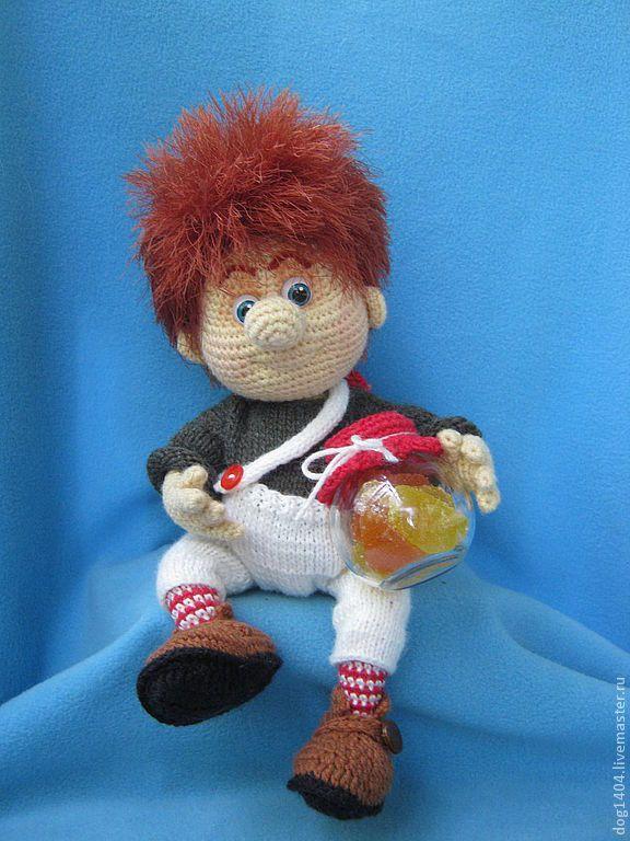 Мастер-класс по вязанию игрушки Карлсон - карлсон,мультфильм,игрушка в подарок