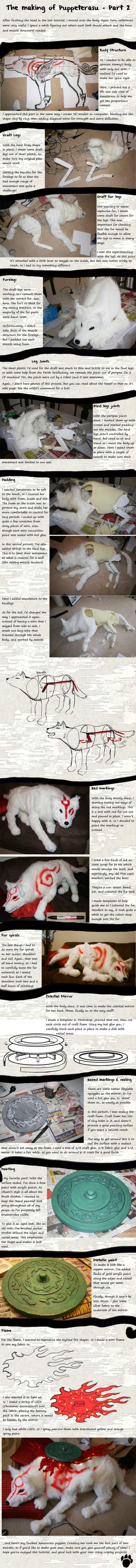 Wolf mit Drahtgerüst und Plüschfell basteln...in Lebensgröße