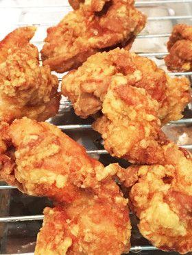 味付けしっかり!鶏もも肉のかりかり唐揚げ