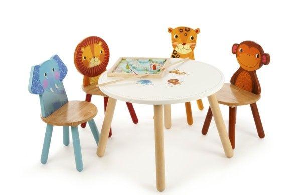 Kindertisch und Stühle - Gestalten Sie einen entzückenden ...