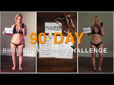 PROGRESS CHECK-IN: DAY 90 BIKINI BODY MOMMY CHALLENGE