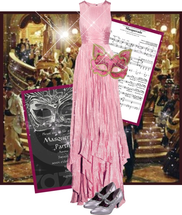 """""""masquerade ball"""" by brandygrr ❤ liked on Polyvore"""