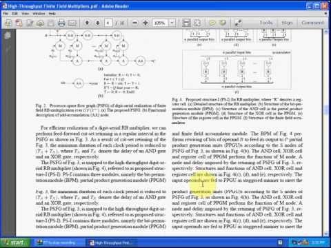 High-Throughput Finite Field Multipliers Using Redundant