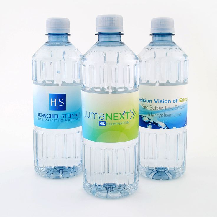 Add your logo to a label and market your small business. #marketing #custombottledwater #promotions #logowater #customlabels #h2o #marketing #smallbiz