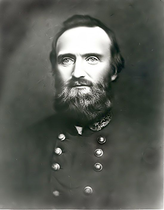 Stonewall Jackson: Confederate General. Recognized as one of the best tactician's in U.S. history. Shot by his own men, who confused him for a Union cavalry officer. His death served as a huge blow to morale to the South.