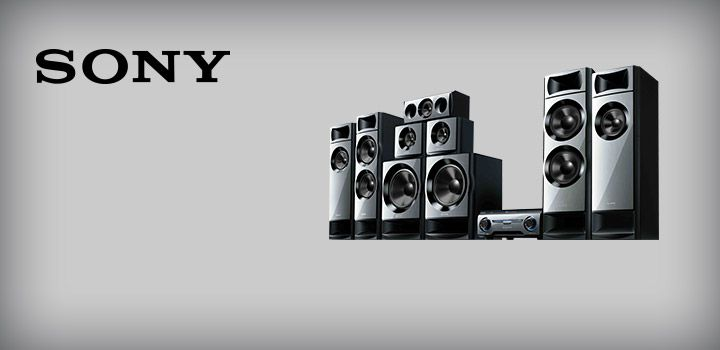Powerful sound is yours with the Sony HTM77 7.2ch MUTEKI Home Theatre System!