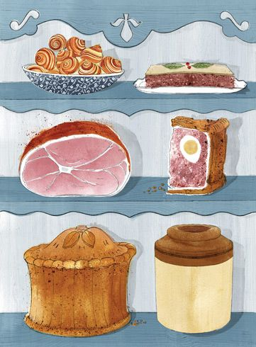 238 best favorite english food writers images on pinterest english good things folio illustrated book forumfinder Choice Image