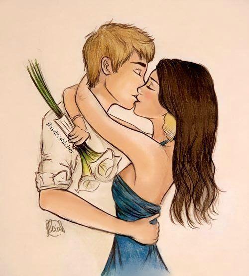 Красивые рисунки девушек и парней