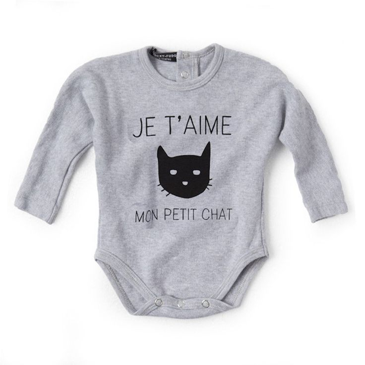 Valentina Grower - Cat on Grey - Clothing - girls - Baby Belle