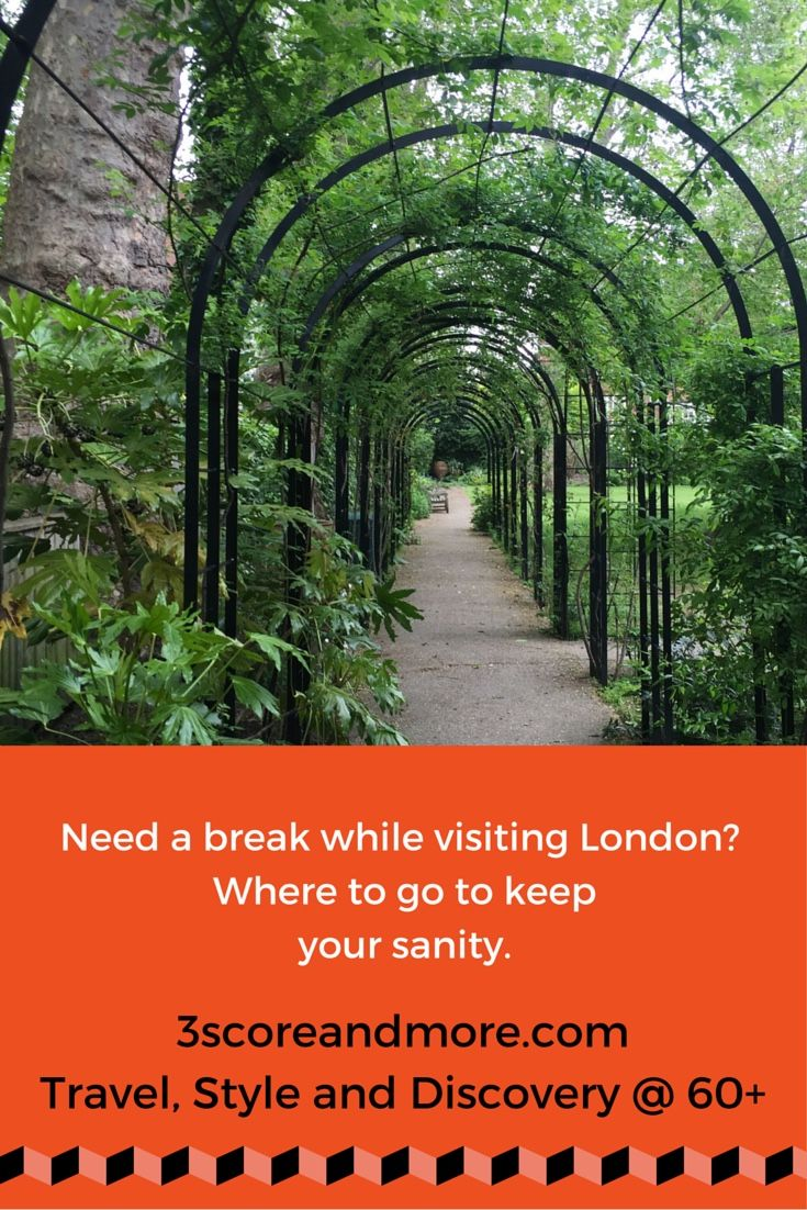 The crush of a big city can be overwhelming for a visitor. Luckily, London offers many quiet spots to re-charge your battery and enjoy the unique culture of this magnificent city. Click to see where!