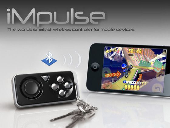 Impulse Game Controller Key Finder Impulse Is The Smallest Wireless Controller For Mobile Devices