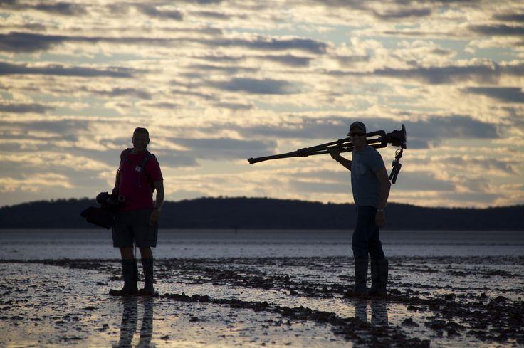 Behind the scenes, Series 3, Lake Ballard, Western Australia