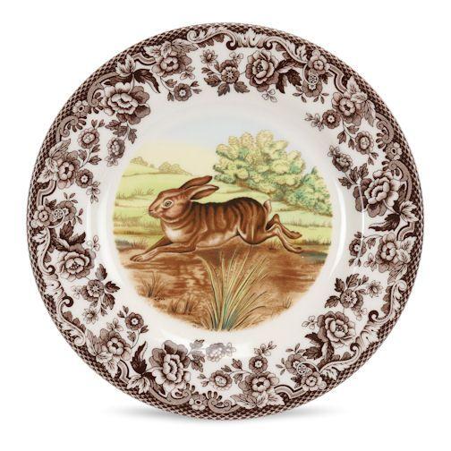 Spode Woodland Rabbit Salad Plate $26, You Save $6.50